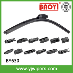 2015 Excellent quality !! BAOYI manufacturer&supplier rear wiper blade