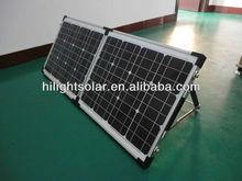 Hot sell !!! Monocrystalline Folding Solar Panel 140w ( SGM-F-2*70W)