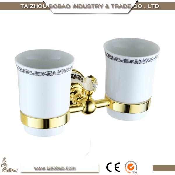 Fiore di lusso oro accessorio per il bagno set placcato - Accessori bagno oro ...