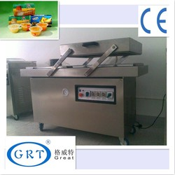 China best quality/two chambers vacuum packaging equipment for retort pouch