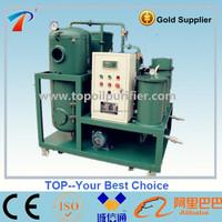 Series TY unqualified waste turbine oil purification treatment machine