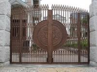 Economic and durable luxury new design iron gate
