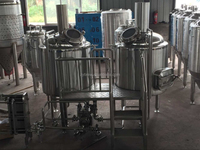 500L Pub ale commercial beer brewing equipment