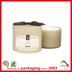 Pantone color composite paper can tube gift round cardboard box for clothing perfume Chocolate