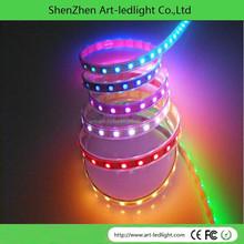 DVI/DMX control full color rgb WS2812B led strip lights string for DJ table decoration