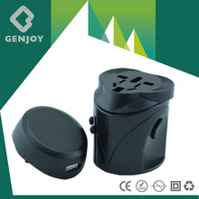 2015 Best Genjoy Electric Multi USA travel adapterwith Surger Protector