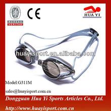 New design arena silicone racing prescription fun advanced view racing swim goggles