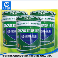 One component Pu polyurethane roof waterproofing coating/paint