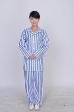 100% cotton hospital adult comfortable patient uniform maxi dresses