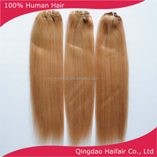 Best 6A clip hair extension double drawn straight piano color 16/24 18 inch 90g per set in stock