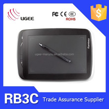 Ugee RB3C usb tablet 5080LPI 2048 levels 9x6 inches computer drawing pads