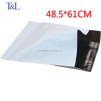 Size 48.5*61+4cm manufactured stock express destructive glue poly mailer