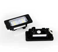 E Mark Error free LED License Plate Lamp for BMW E82 E90 E92 E60 E70