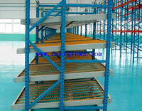 warehouse storage pallet sliding rack, pallet shelving