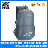 Wholesale online foldable polyester daily handle backpack for youth