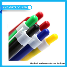 New design advertising promotional plastic colorful ball pen pens