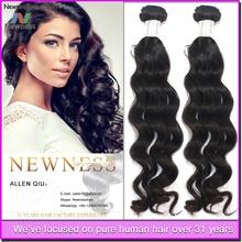 100% virgin remy human hair bulk order top quality unprocessed Chinese human hair/virgin human hair