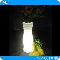 Led flower vases light for amusement park lights decorative flower tree lights