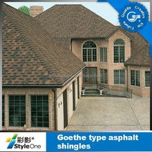 roof tile 5-Tab architectural colorful asphalt shingles/roofing tiles