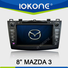 HD Touch Screen Car GPS for Mazda 3 with DVD GPS Radio Bluetooth iPod SD USB