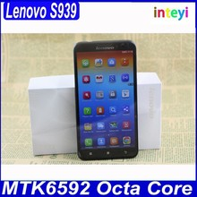 Original Lenovo S939 MTK6592 Octa Core Mobile 6 inch IPS Screen Android 4.2 Smartphone 1280*720px 1GB RAM+8GB ROM GPS Lenovo