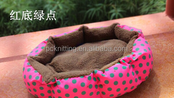 2014 New Design Supply Pet Dog Products 100PCS Pink Red Blue Yellow PP Cotton Honorable Pet Kennel