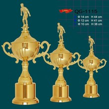 promotional high quality metal trophy figure for big events