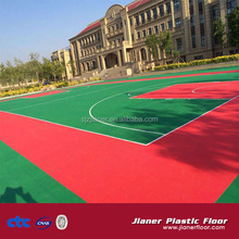 muti sport court interlocking floor tile for basketball
