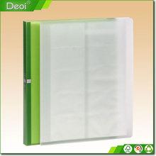 Front cover information pamphlet a4 pocket display book a4 folder Business card book folder