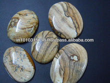 AAA High Quality Picture Jasper Gemstone Cabochon Wholesale Price
