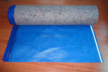 3 in 1 Felt Acoustic Flooring Underlayment Overlap With Adhesive Tape