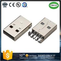FBUSBA1-110 usb flash drive parts welding cable connector parts MINI USB connector(FBELE)