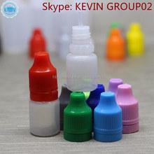 larger supply plastic e juice e liquid nicotine oils bottle long extreme tip childproof tamper cap PE bottles