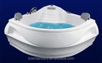 2015 factory produced directly best corner double acrylic fiberglass whirlpool massage bathtub