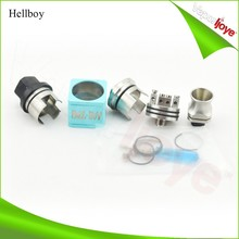 e cig new products rebuildable 5ml Juice Well hellboy cube rda