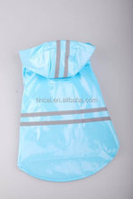 Durable/Fashion/Beautiful Reflective dog rain coat