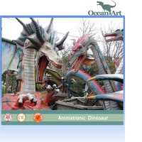 hot sale animatronic life size dragon