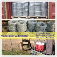 HOT!Iron wire Loop tie wire Barbed wire(Manufactuer & Exporter)