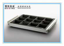 Cabinet display jewelry dividers drawer box