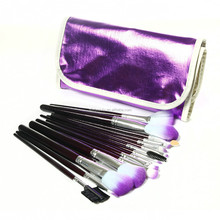 16 PCS Professional Makeup Brushes Set With PU Travel Bag Cosmetic Brush Set