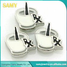 Wholesale low price high quality newest christmas floating locket charms