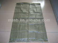 pp woven bag recycled in plastic bags 55*95cm 100% recycled material garbage package