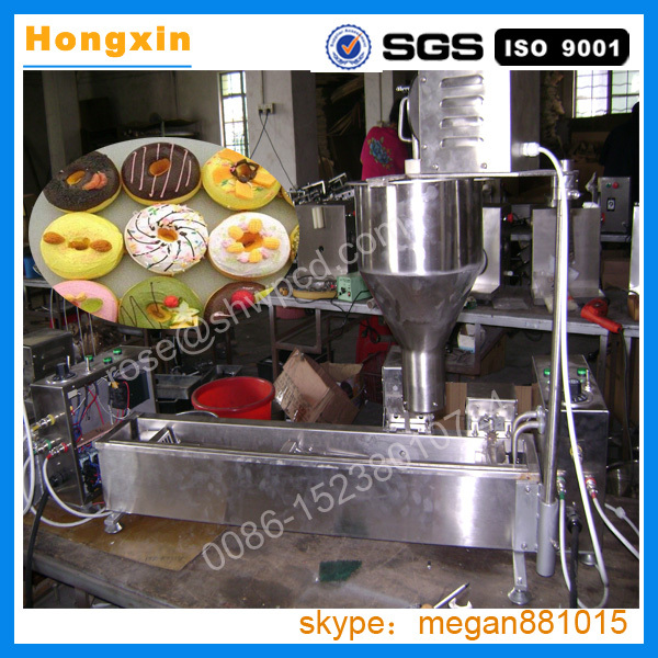 Automatic Doughnut Factory: Factory Price Automatic Stainless Mini Donut Making