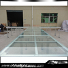 New Arrival Glass Stage Platforms With Platform Guard Rail