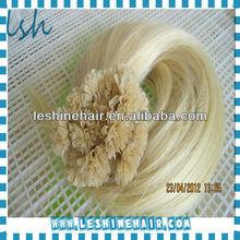 Italian Glue Soft Silky Straight 100% Human Nail/U Tip Hair Extension