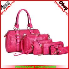 Six piece wholesale designer inspired handbag
