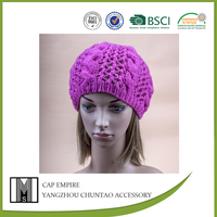 BSCI Audit baby knitted snow cap