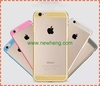 Bling Glitter Clear TPU Soft back Case Cover For iPhone6