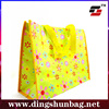 2015 Latest New Style Custom Printing Recycle Shopping Non Woven Bag