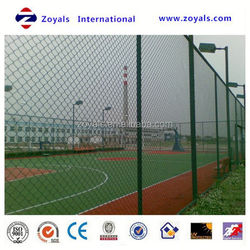 Reliable Supplier ISO 9001:2008 vinyl coated pvc chain link fence fabric